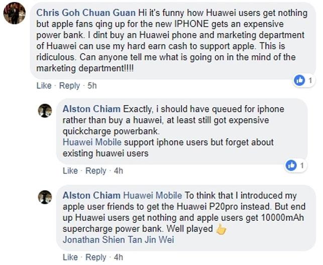 Huawei'den iPhone kullanıcılarına anlamlı jest