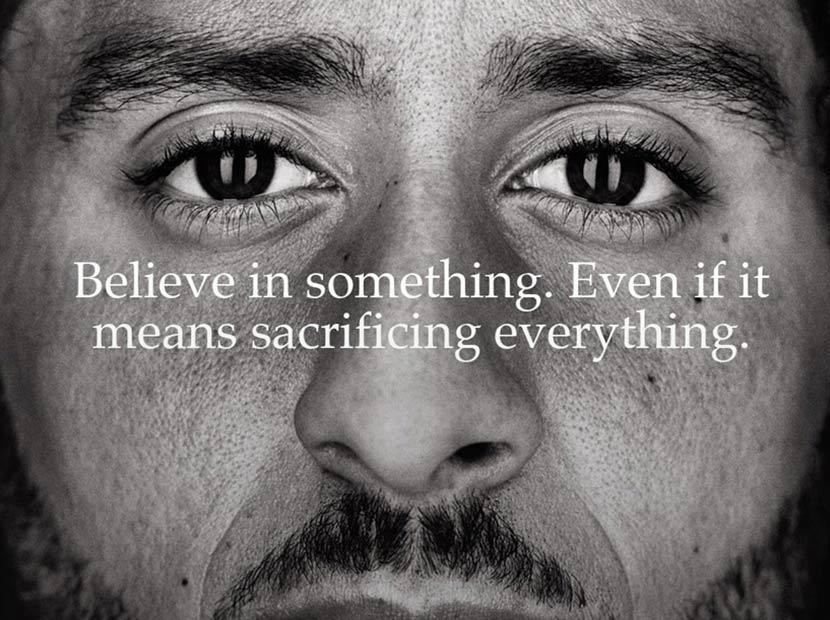 Nike'tan Trump'ın hedefindeki Kaepernick'e tam destek