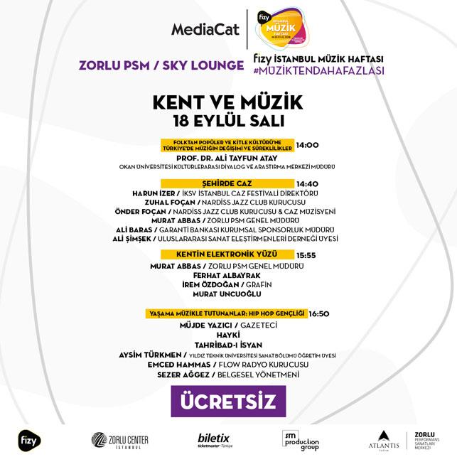 """""""Popüler Kültür ve Müzik"""" panel programı netleşiyor"""