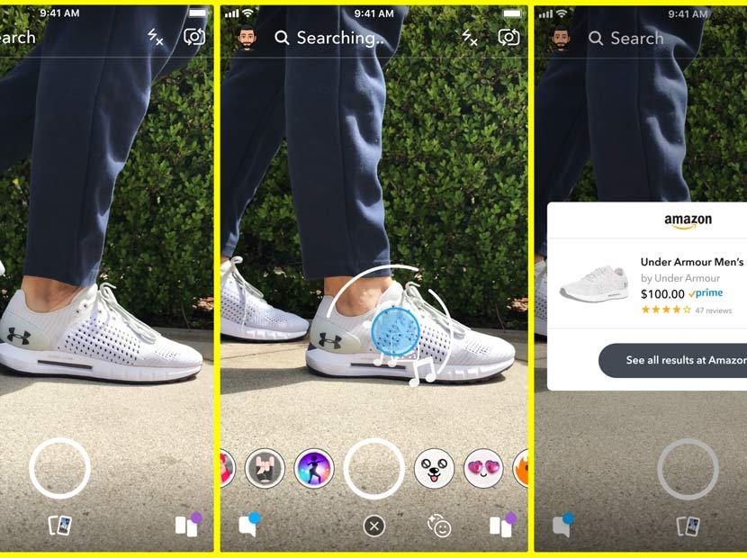 Snapchat ve Amazon'dan işbirliği