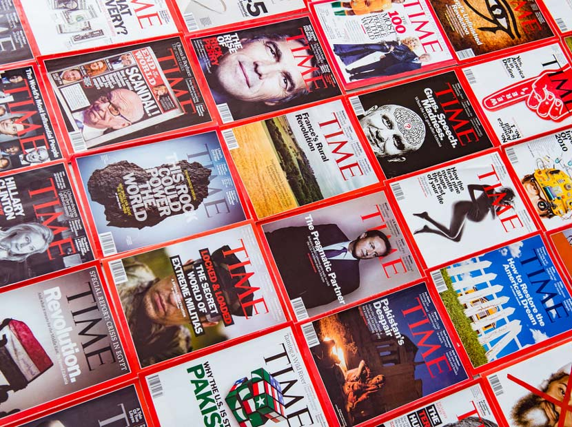 TIME dergisi el değişirdi