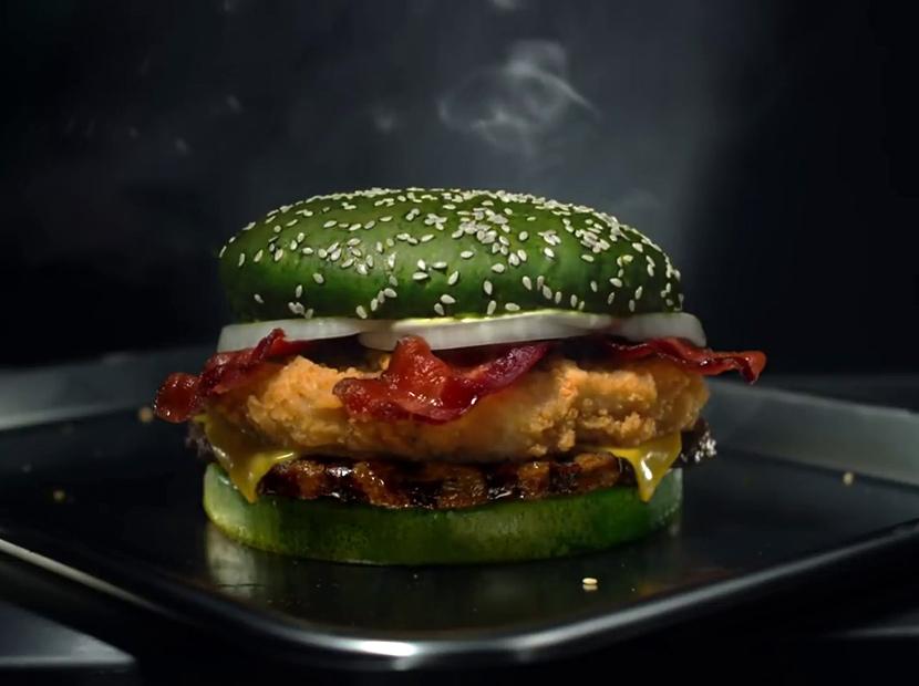 Burger King'ten kabus gibi bir hamburger
