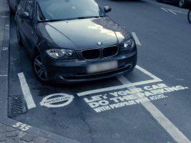 Aracını düzgün park edemeyenlere
