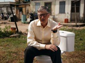 Bill Gates ile tuvalet üzerine