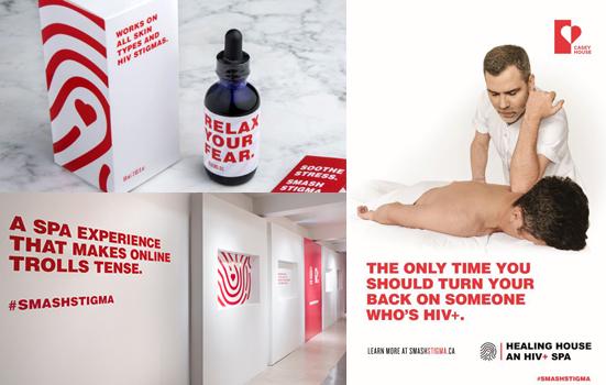 Kanada'dan HIV pozitif bir spa merkezi