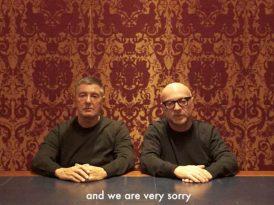 Dolce & Gabbana'dan tepki çeken reklam hakkında özür