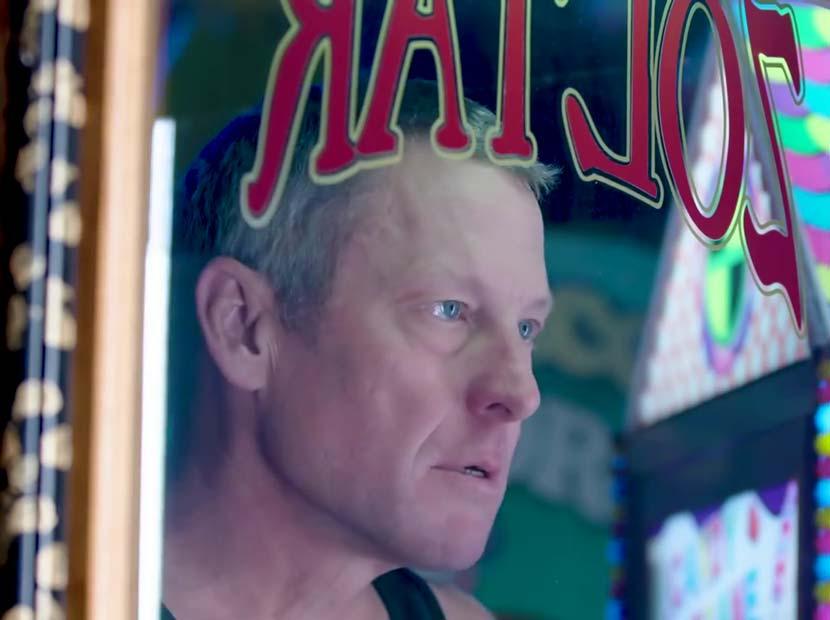 Lance Armstrong testis kanserine karşı devrede