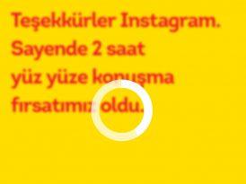 Lipton'dan Instagram'a teşekkür