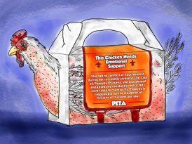 Popeyes'ın 'duygusal' kampanyasına PETA'dan yanıt
