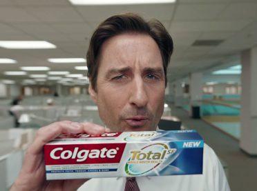 Colgate Luke Wilson Super Bowl reklamı