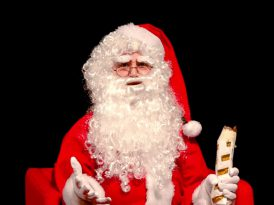 Noel Baba'nın döner keyfi