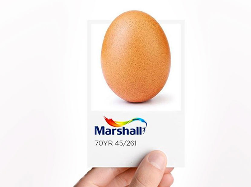 Rekortmen yumurtaya Marshall yorumu