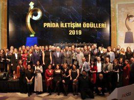 PRİDA İletişim Ödülleri 2019 sahiplerini buldu