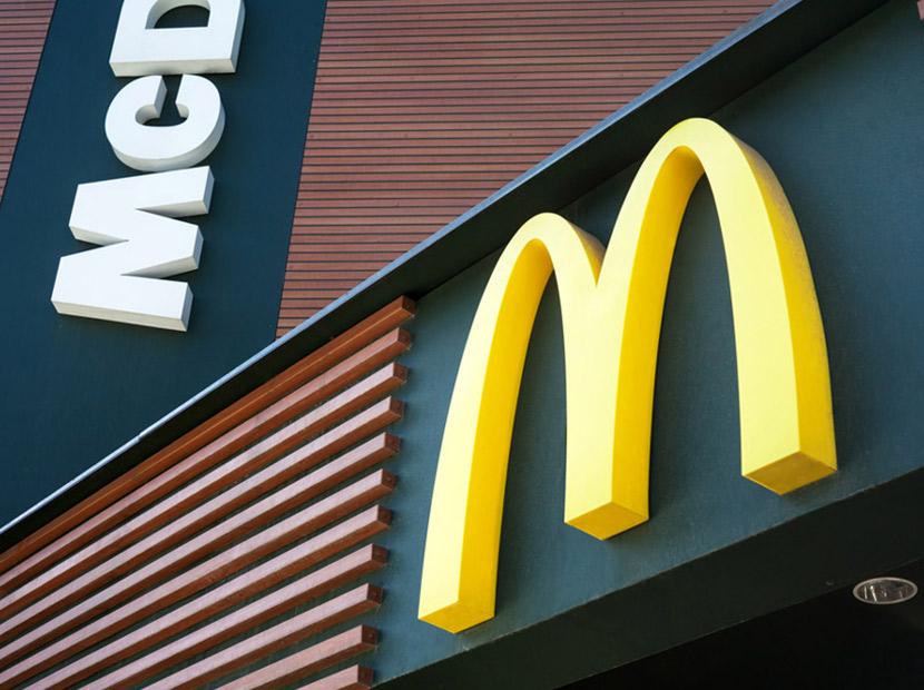 Stalk sırası McDonald's'ta