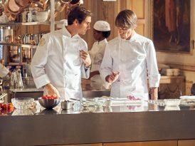 Roger Federer ile parti mutfakta