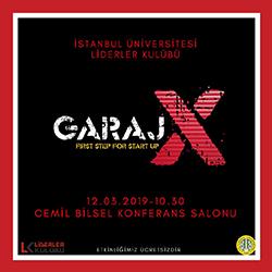 GarajX başlıyor
