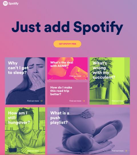 Sıradan dertlerin dermanı Spotify'dan