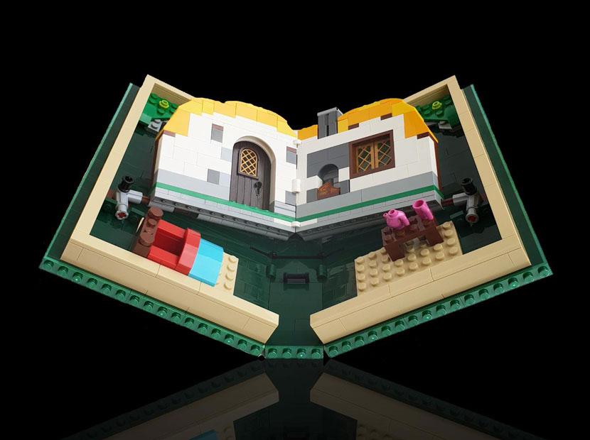 Katlanabilir telefonlara LEGO yorumu