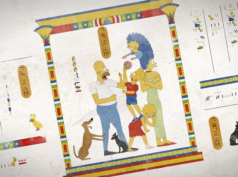 Mısır hiyeroglifleriyle modern hikâyeler