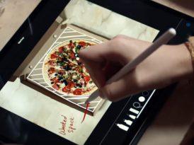 Biraz şans, biraz pizza, bolca Apple