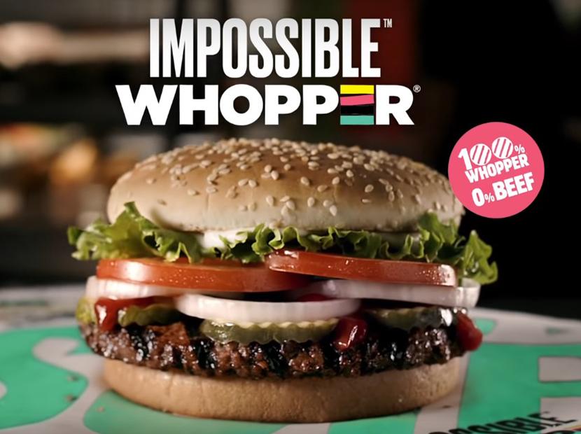 """Burger King'den """"imkânsız"""" bir Whopper"""