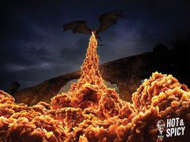 Winterfel soğuğuna kızarmış tavuk sıcağı