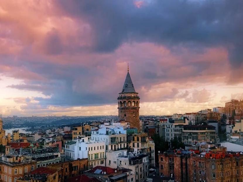 Kuş bakışı Türkiye manzaraları