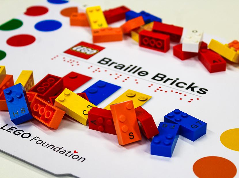 LEGO'dan görme engelli çocuklara özel bir proje