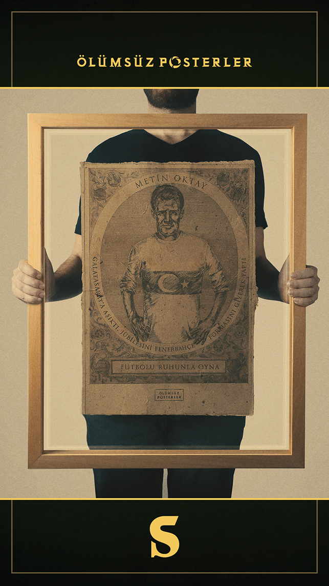 Efsanelerin anısına ölümsüz posterler