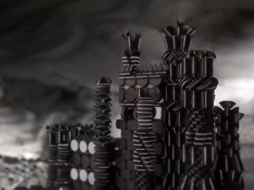 Oreo'dan leziz bir Game of Thrones jeneriği