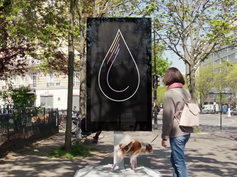 Köpeğinizin sağlığını önemseyen bir billboard