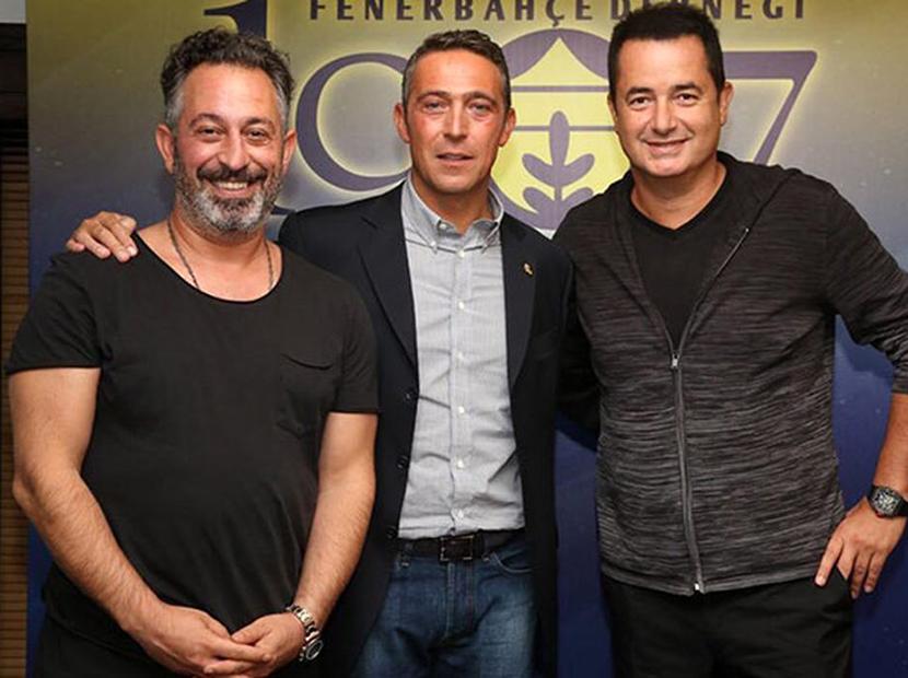 Acun Ilıcalı ve Cem Yılmaz Fenerbahçe için bir arada