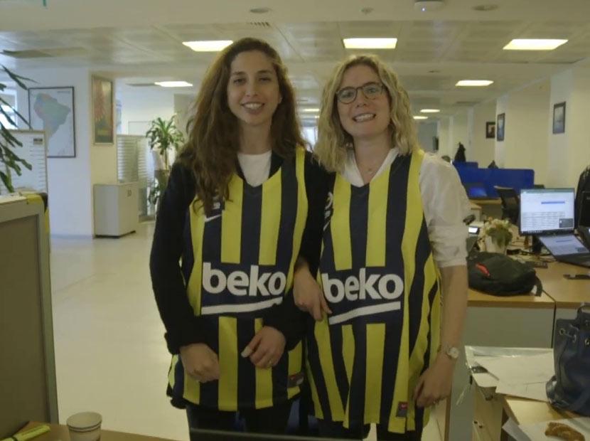Beko'dan Fenerbahçe Beko'ya sürpriz uğurlama