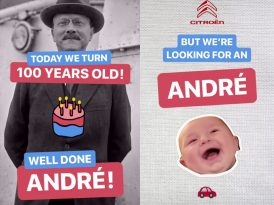 Citroën 100'üncü yaşını adaşlarıyla kutluyor