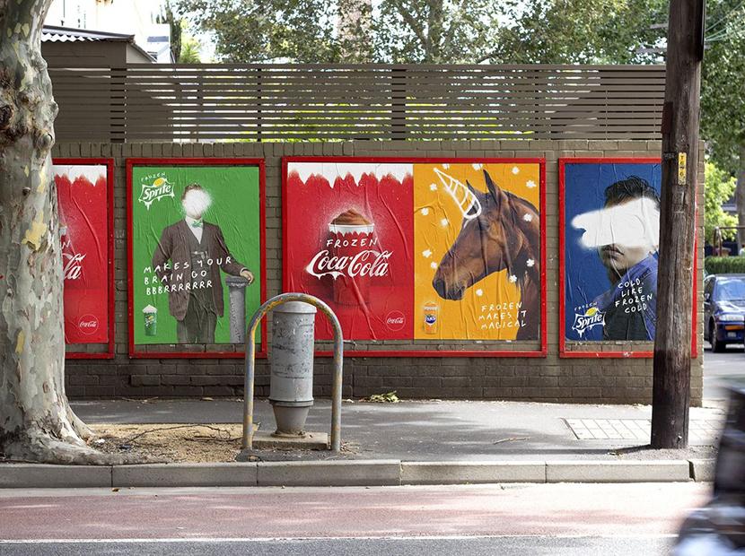 Coca-Cola'dan Avustralyalılara buz gibi armağan