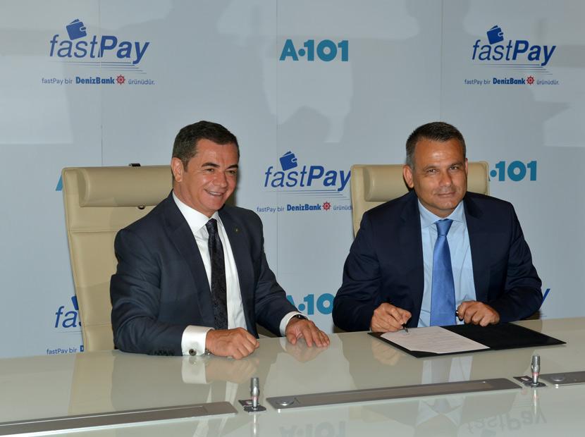 A101 ve fastPay'dan işbirliği
