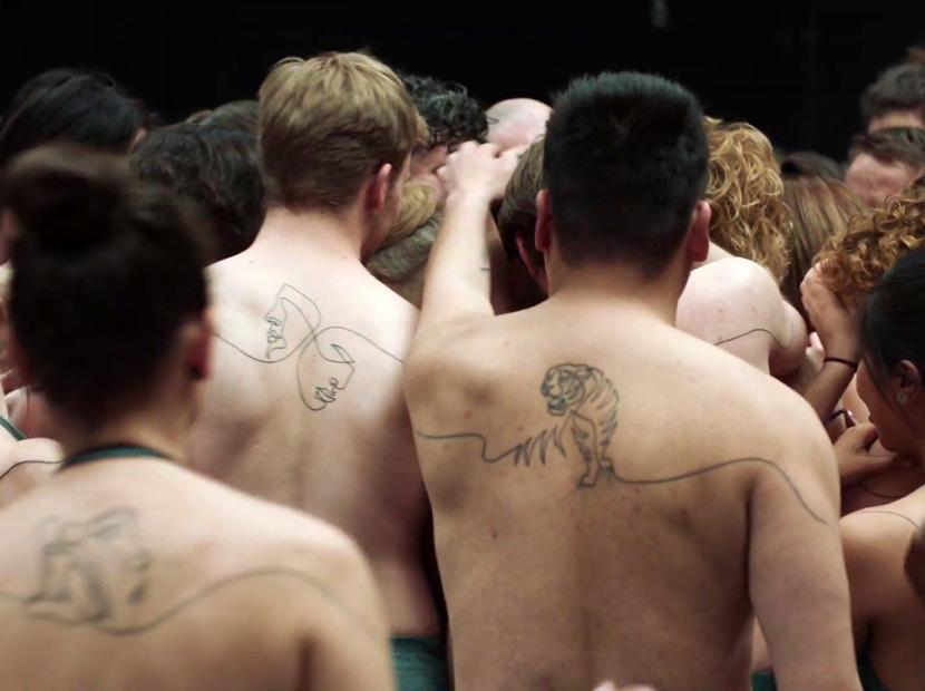 İnsanlığı birleştiren dövme
