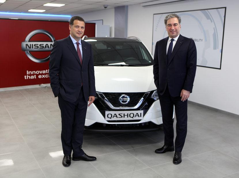 Nissan Türkiye'de bayrak değişimi