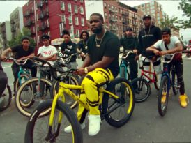 A$AP Ferg ile New York'ta bir bisiklet turu