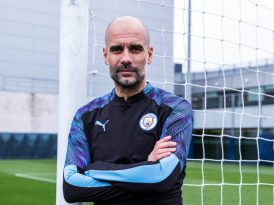 Puma'nın yeni marka elçisi Pep Guardiola