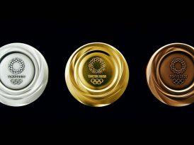 E-atıklardan dönüştürülen olimpiyat madalyaları tanıtıldı
