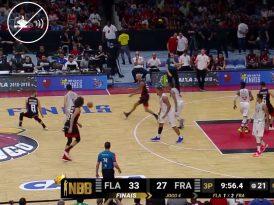 Ayakkabı sesi duyulmayan bir basketbol yayını