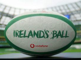 İrlanda'nın parmak izleri ragbi topunda