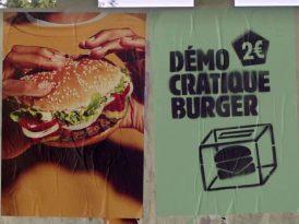 Dünyanın ilk demokratik burgeri