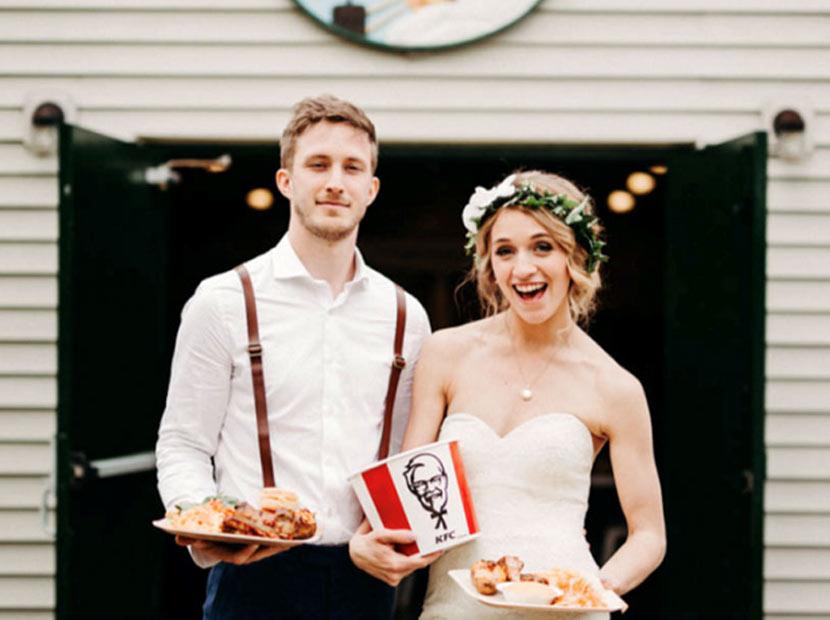 KFC'den evlendirme hizmeti