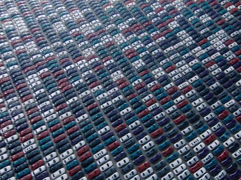 Daha az trafik için 30 bin oyuncak araba