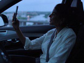 Trafik güvenliği için selfie