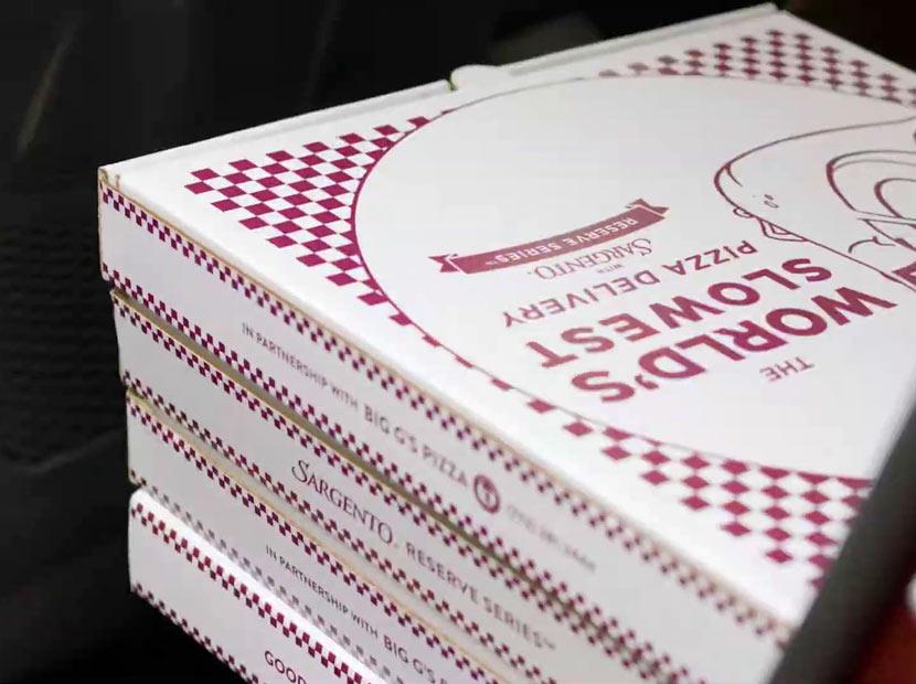 Dünyanın en yavaş pizza teslimatı