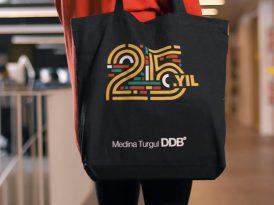 Medina Turgul DDB'den 25 yılın logosu