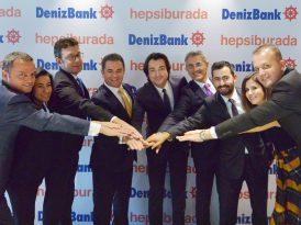 DenizBank ve Hepsiburada'dan işbirliği